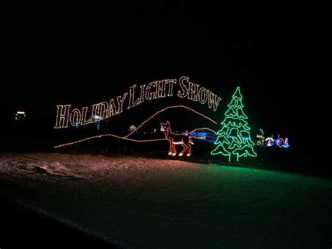 light show picture of shady brook farm yardley