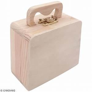 Valise En Bois : valise en bois d corer 10 x 8 5 x 5 cm objets divers d corer creavea ~ Teatrodelosmanantiales.com Idées de Décoration