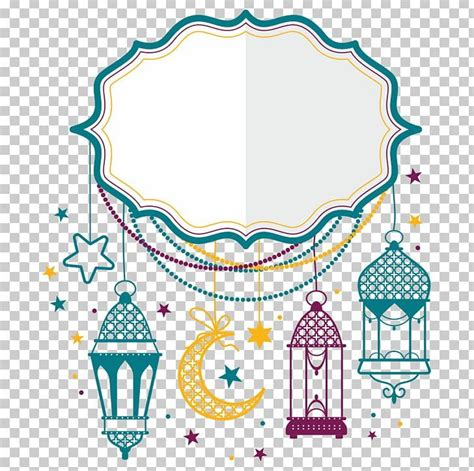 eid mubarak eid al fitr eid al adha png art border