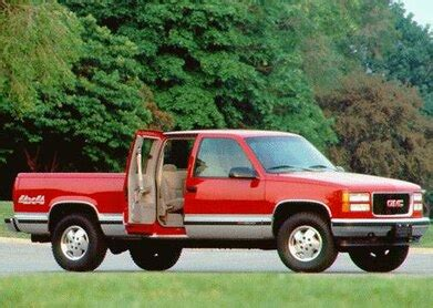 blue book value for used cars 1996 gmc 1500 club coupe auto manual 1996 gmc 1500 club coupe pricing ratings expert review kelley blue book