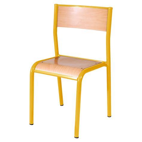 chaise d ecole chaise 970 manutan collectivités