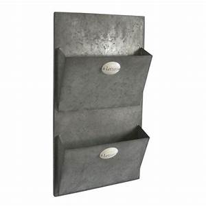 metal wall two letter holder for the home pinterest With metal wall letter holder