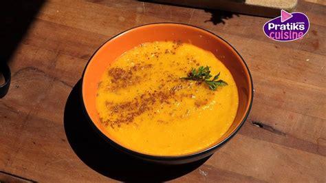 comment cuisiner carottes cuisine minceur comment cuisiner un velouté de fânes de
