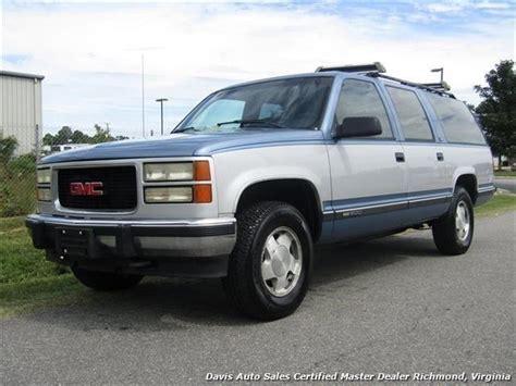 1994 Gmc Suburban K1500 Sle 4x4 57 350 V8 Loade 164147