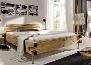 Bett Aus Alten Balken : holzbett massiv rustikal ~ Bigdaddyawards.com Haus und Dekorationen