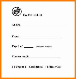 8 generic fax cover sheet word document ledger review With generic fax cover sheet template
