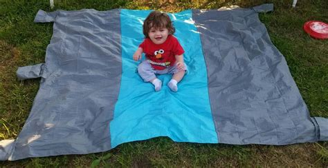 Mingou Sand Proof Picnic & Beach Pocket Blanket Review Directions For Fleece Tie Blanket Tough 1 Turnout Blankets Project Linus Electric Kmart Bilirubin Price Magic Weighted Sofas Knitting Baby With Straight Needles
