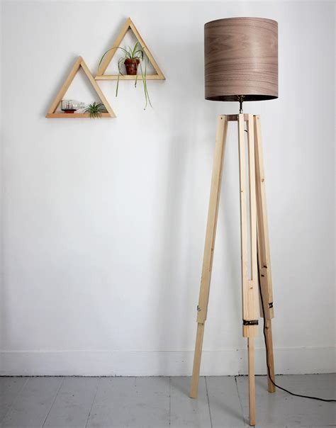 DIY Tripod Floor Lamp   The Merrythought