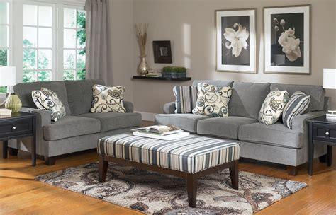 gray sofa and loveseat set yvette sofa and loveseat set 7790035 ashley furniture tv