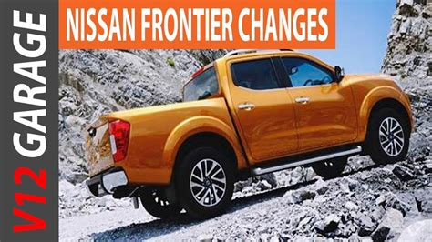 nissan frontier usa redesign  release date youtube