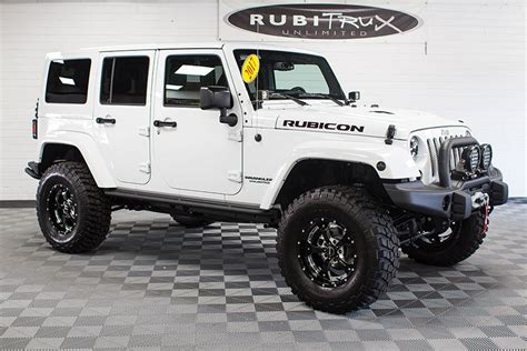 jeep rubicon 2017 white 2017 jeep wrangler rubicon hard rock unlimited white