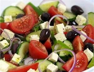Classic Greek salad recipe, easy and delicious salad