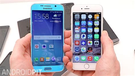 samsung makes iphone galaxy s6 vs iphone 6 comparison who makes the better