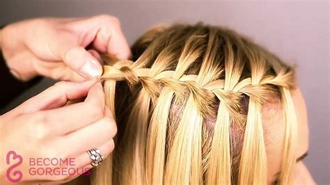 Waterfall Braid Tutorial Popular 2015 Haircuts Baby Haircut Pictures For Infants Old School Bob Specials Today Best Men S In Oxford Ms Girls Long Layered Toddler Girl With Bangs