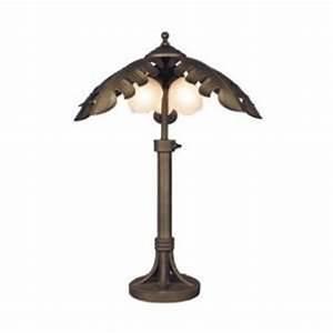 Bel air outdoor 3 light outdoor palm tree floor lamp on for 3 light outdoor palm tree floor lamp