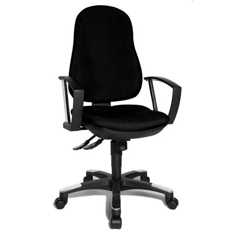trend sy 10 black fabric office chair 9020ag20e