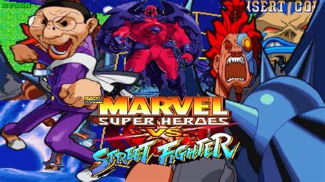 Marvel Super Heroes Vs Street Fighter Arcade Cps2 1cc