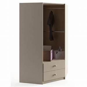 Armoire D Angle : armoire d 39 angle savannah azura home design ~ Teatrodelosmanantiales.com Idées de Décoration