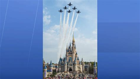navys blue angels pass epcots spaceship earth