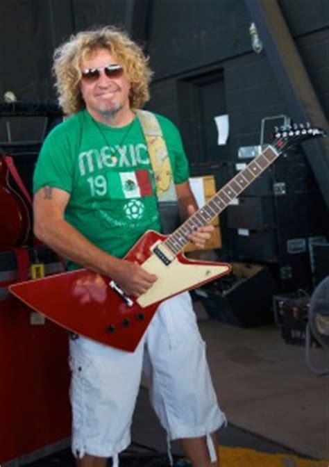 Halen News Desk 2011 by Sammy Hagar Limited Edition Signature Explorer Halen