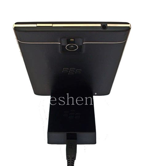 original desktop charger quot glass quot sync pod for blackberry passport everything for blackberry