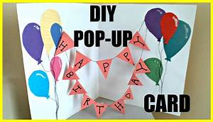 DIY Pop-Up Birthday Card - YouTube