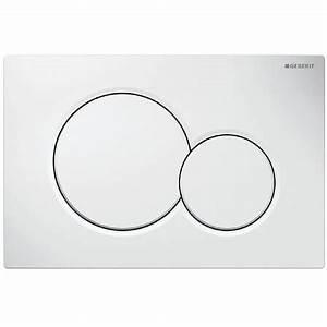 Geberit Drückerplatte Sigma 01 : geberit sigma 01 2 knops frontbedieningsplaat grote en kleine spoeling wit ~ Orissabook.com Haus und Dekorationen