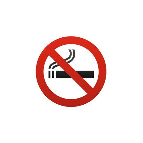 autocollant interdit fumer cigarette univers panneau