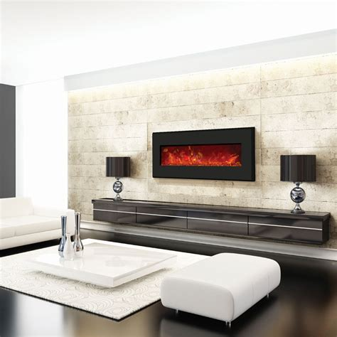 amantii wall mount  built  electric fireplace