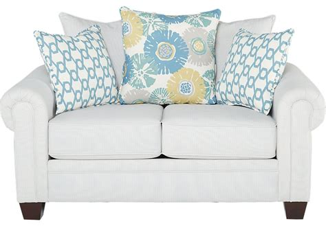 Shore Sofa And Loveseat by Cottage Shore White Loveseat Loveseats White
