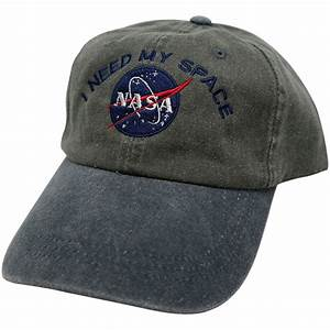 I NEED MY SPACE Nasa Meatball Embroidered 100% Cotton by ...
