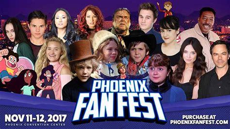 fan fest phoenix 2017 phoenix fan fest 2017 convention report