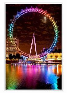 Bilder London Eye : dosfotos london eye poster online bestellen posterlounge ~ Orissabook.com Haus und Dekorationen