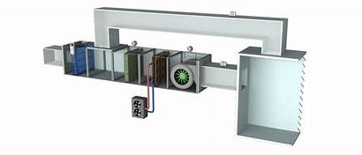 Hvac Parts System Basic Every Ahu Unit