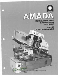 Amada Ha 500 Wiring Diagram   27 Wiring Diagram Images