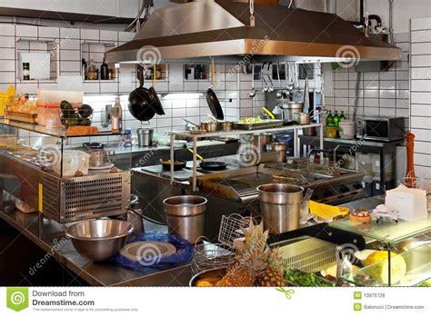 cuisine de restaurant cuisine de restaurant photos libres de droits image