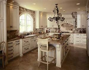 antique white kitchen cabinets photo kitchens designs ideas With kitchen cabinets lowes with map of the world wall art