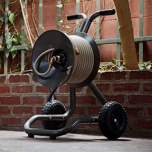Best Garden Hose Reel Cart  With Wheels  Reviews And