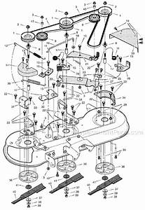 30 Murray Lawn Mower Belt Diagram 46 Inch