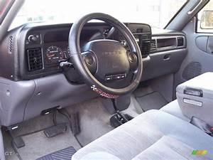 Mist Gray Interior 1997 Dodge Ram 1500 Laramie Slt