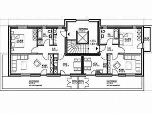 Mehrfamilienhaus Grundriss Beispiele : kern haus massivhaus mehrfamilienhaus quadra eingang terrasse und balkon die obergeschosse des ~ Watch28wear.com Haus und Dekorationen