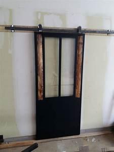 Porte Coulissante En Bois : verri res portes steel home ~ Melissatoandfro.com Idées de Décoration