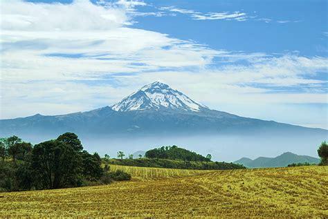 morelos puebla mexico volcano popocatepetl wallpaper