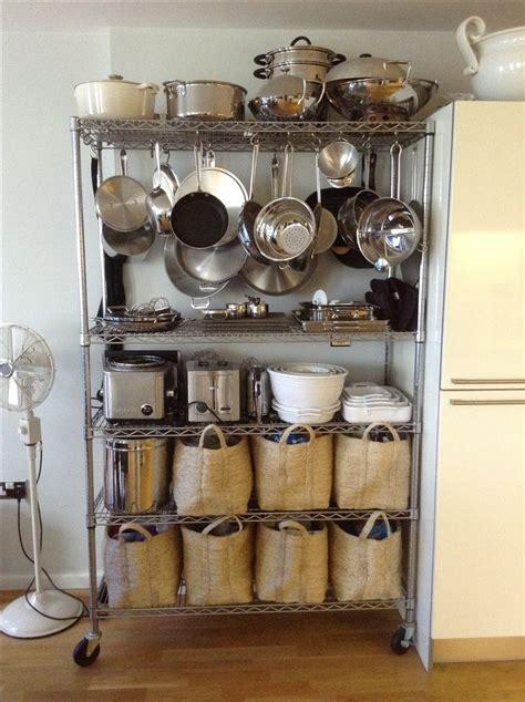 kitchen rack ideas my baker 39 s rack kitchen storage home organization