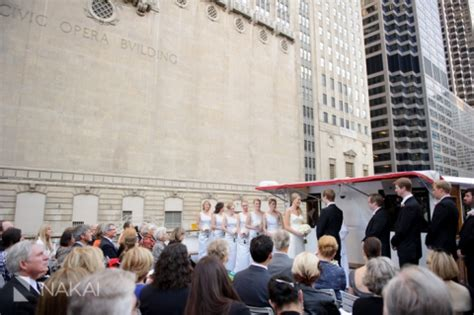 Chicago River Boat Wedding by Chicago Wendella Boat Rookery Wedding Photos