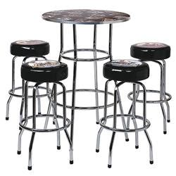 harley davidson pub table and chairs harley davidson american beauties table and bar stool