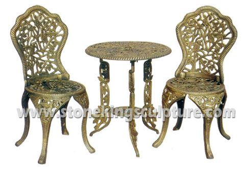 china cast iron garden chairs and table outdoor furniture