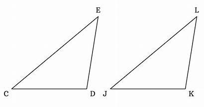 Asa Criterion Triangles Congruent Congruence Triangle Measured