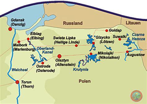 Wolfsschanze Polen Karte