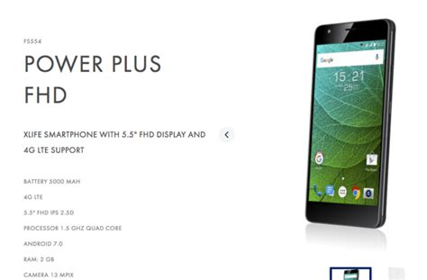 fly power plus fhd smartphone announced with 5000mah battery android 7 0 nougat 187 phoneradar